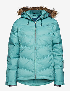 Hunskor down jacket - BRISTOL BLUE