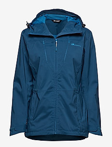 Nausdal  2-Layer Technical Jacket - shell jackets - blue teal