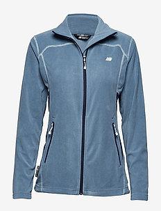 Tinnhølen Microfleece Jacket - DUSK BLUE
