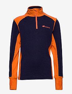 Jostedal Meriono Wool half Zip - PRIME NAVY