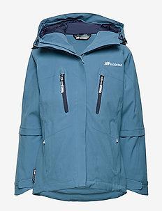 Seltuft 2-lags teknisk jacket - DUSK BLUE