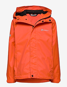 Risøy 2-Layer Technical Rain Jacket - jacken - cherry tomato