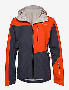 Kirkestinden 2.5 layer Technical Shell Jacket - CHERRY TOMATO