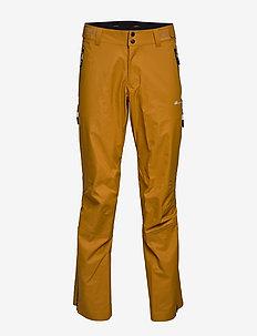 Horgi 3-Layer Techinical Shell Trouser - skihosen - oker
