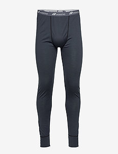Røstene merino wool longs - ANTRACITT
