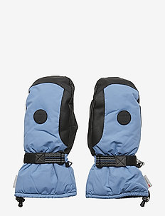 Salbu 2-Layer Fleece Gloves - gender neutral - dusk blue