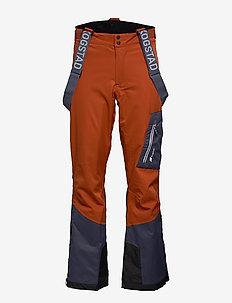 Holen 2-Layer Technical ski trousers - skihosen - terracotta