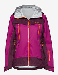 Runde 3-Layer Technical Shell Jacket - laskettelutakki - festival fuchsia