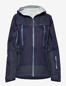 Runde 3-Layer Technical Shell Jacket - ski jackets - prime navy