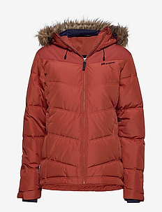 Hunskor Down Jacket - daunenjacken - terracotta