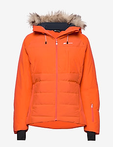 Kikkut Down Jacket - daunenjacken - cherry tomato