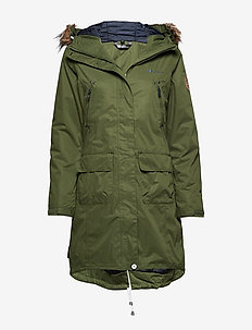 Sande 2-Layer technical Coat - CHIVE