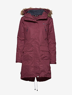 Sande 2-Layer technical Coat - thermojacken - crushed violet