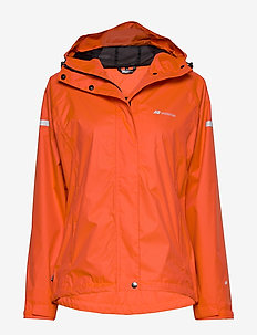 Hildra   2-layer Technical Rain Jacket - outdoor & rain jackets - cherry tomato