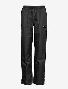 Drøna 2-layer technical rain trouser - pantalon de randonnée - black