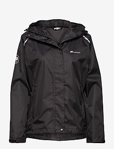 Hildra 2-Layer Technical Rainwear Jacket - BLACK