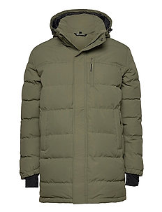 Nydalen long down jacket - down jackets - four leaf