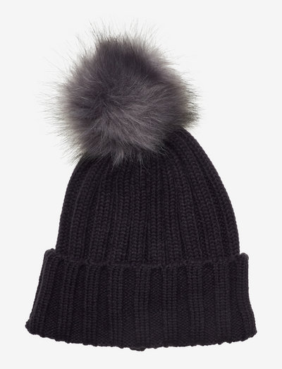 Trysil knitted hat - wintermutsen - dark navy