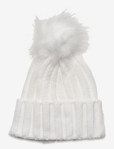 Trysil knitted hat - wintermutsen - white