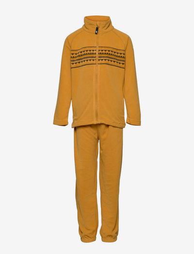 Fongen microfleece set - fleece sets - bright gold