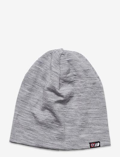Aske merino wool hat - muts - casio grey