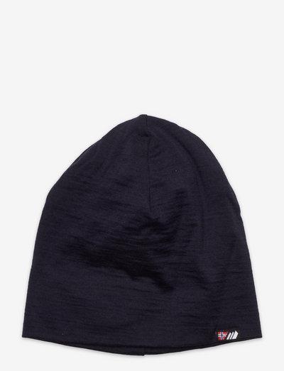 Aske merino wool hat - beanie - dark navy