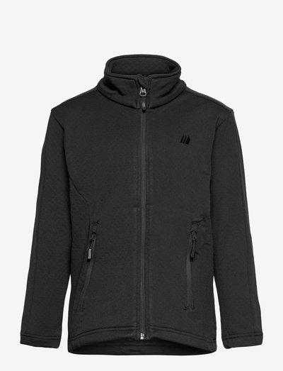 Ervadalen technical fleece jacket - geïsoleerde jassen - black