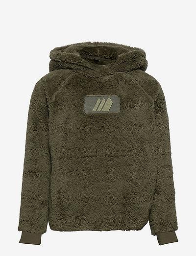 Gjekstad sherpa fleece hoodie - hoodies - four leaf
