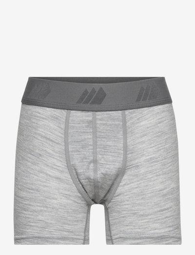 Roknem Merino wool boxer - ondergoed & nachtkleding - grey melange