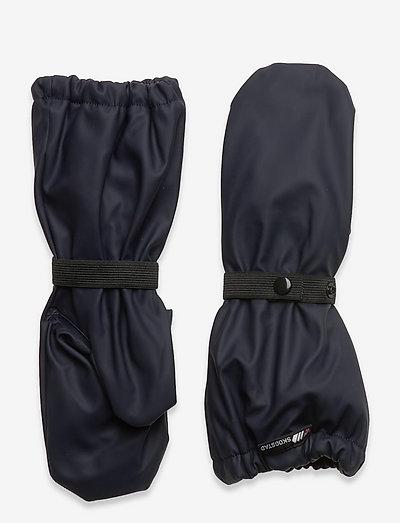 Vigra PU rain mittens - accessoires - dark navy