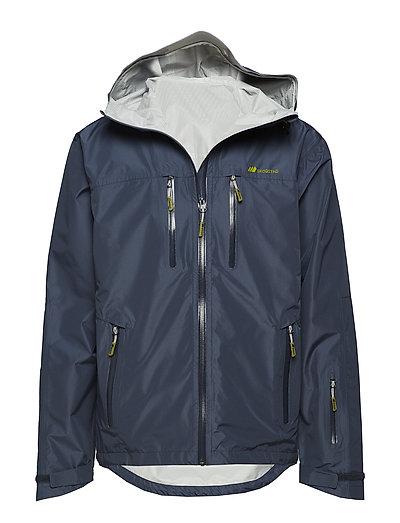 Kirkestinden 2,5-layer technical shell jacket - ANTRACITT
