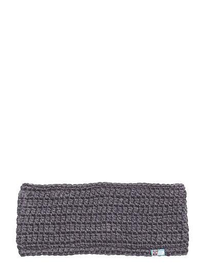 Gytri crocheted headband - STEEL