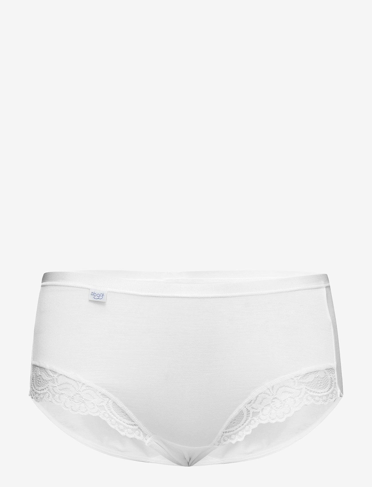 sloggi - sloggi Romance Maxi - midi & maxi truser - white - 0