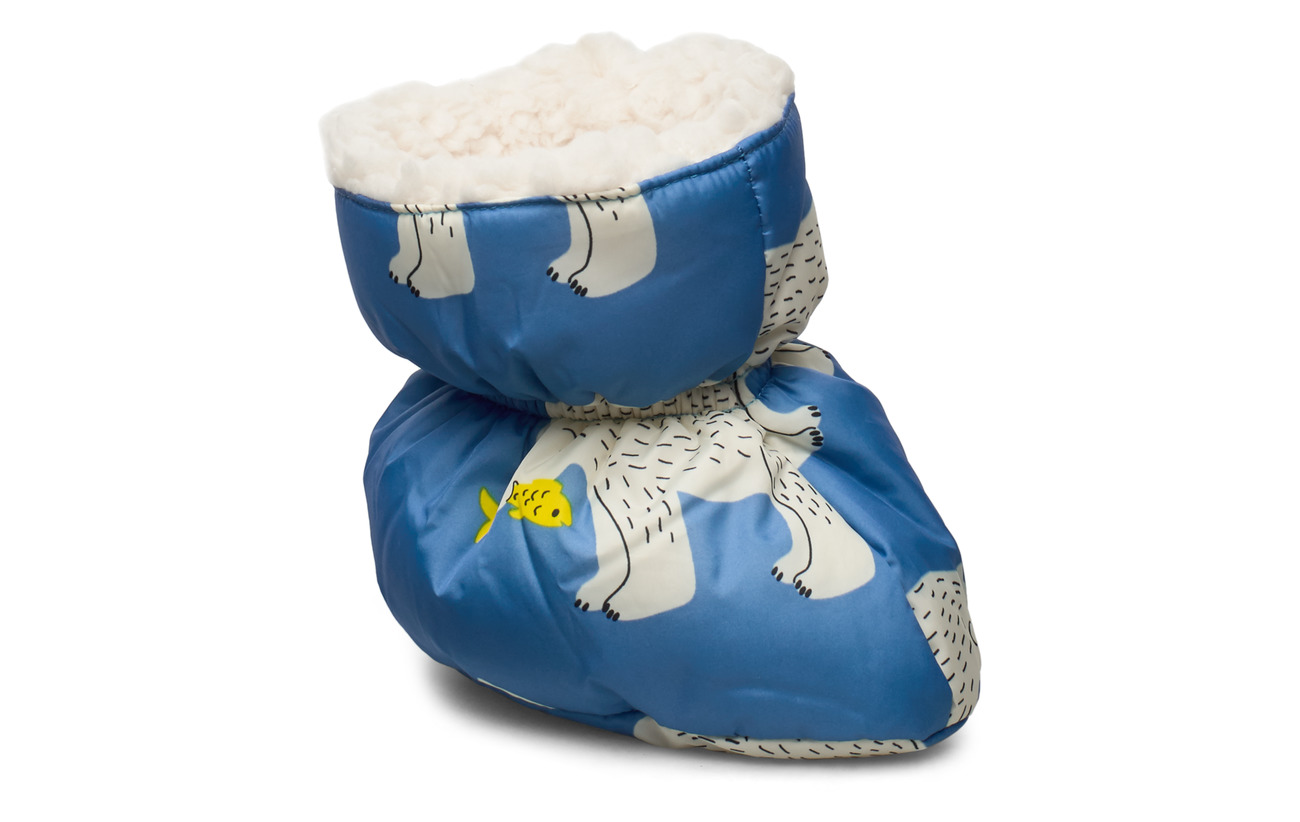 Småfolk Baby winter shoes. Bear - WINTER BLUE