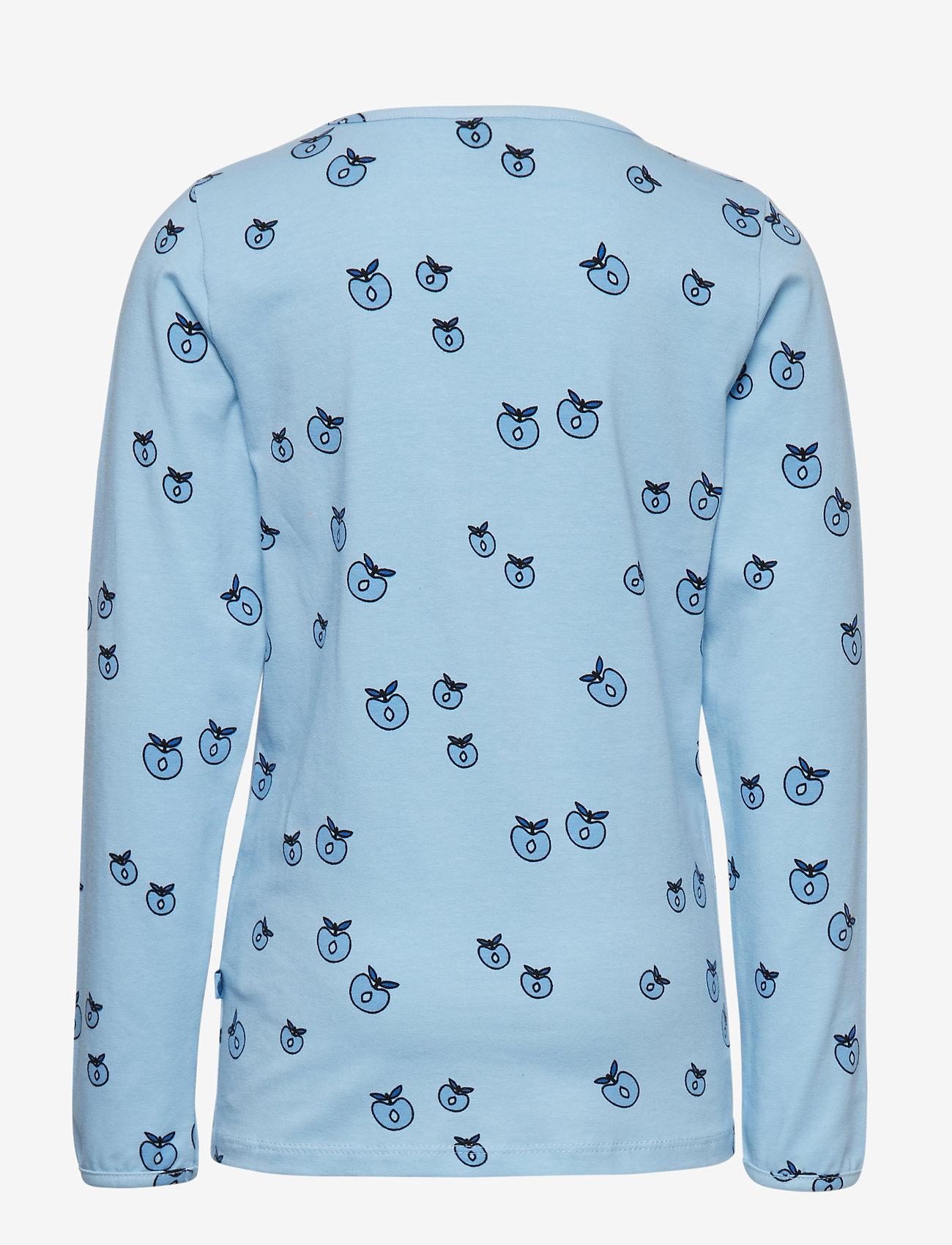 Småfolk - T-shirt LS. Apples. Originals. - lange mouwen - air blue - 1
