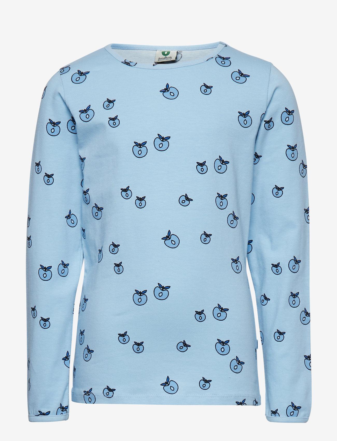 Småfolk - T-shirt LS. Apples. Originals. - lange mouwen - air blue - 0