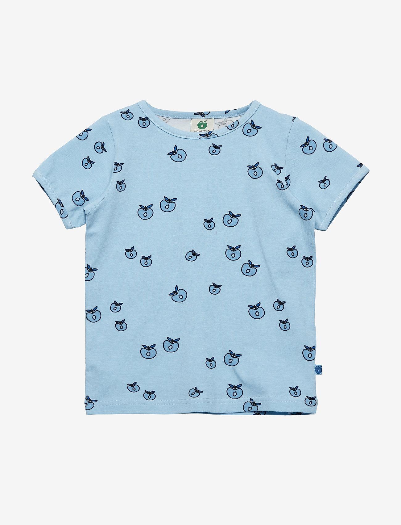 Småfolk - T-shirt SS. Apple. Originals. - korte mouwen - air blue - 0