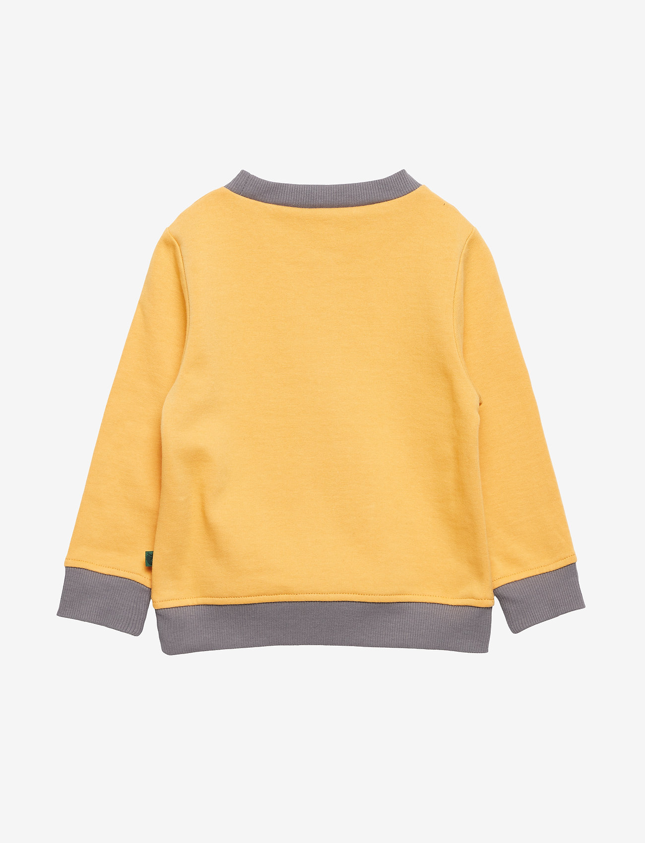 Småfolk - Sweatshirt. Raccon - sweatshirts - ochre - 1