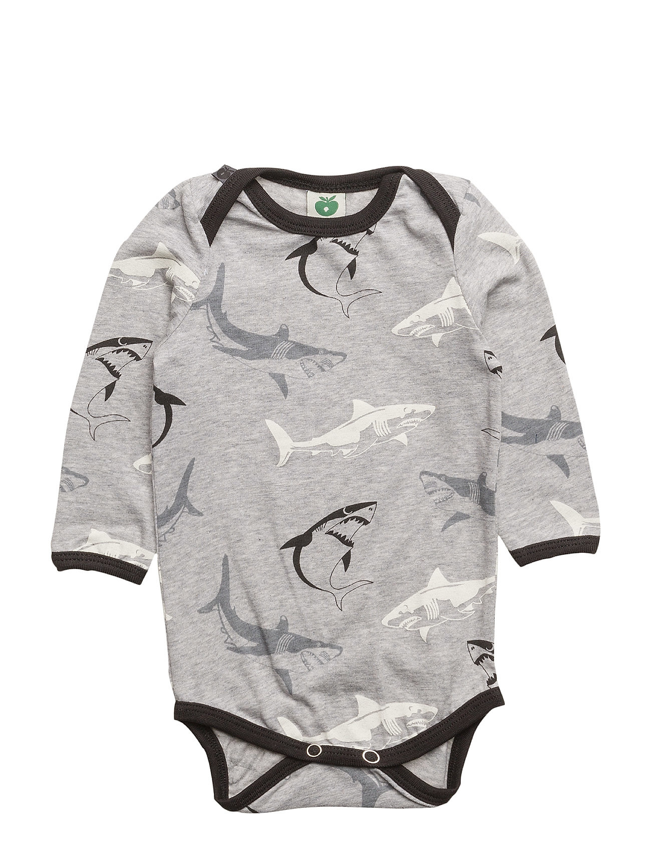 Småfolk Body LS. Shark - GREY MIX