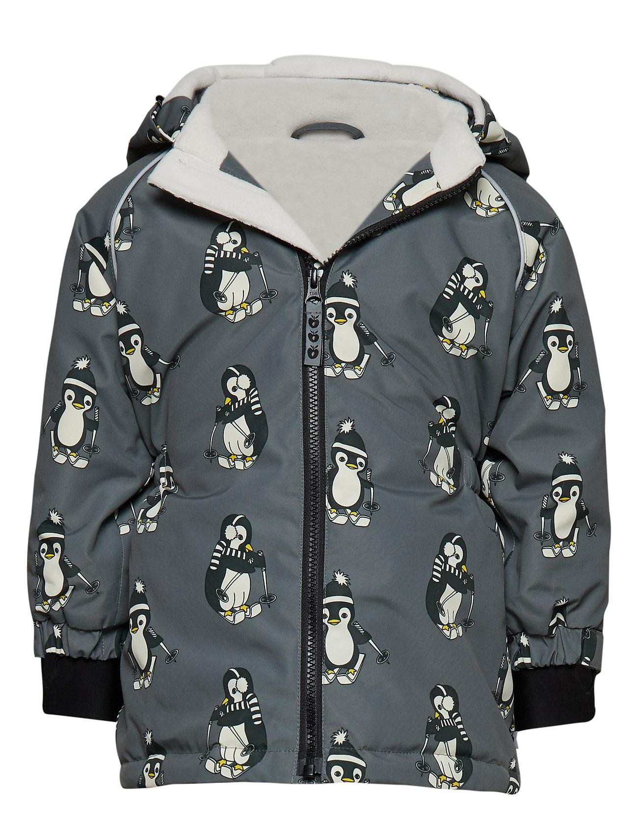 Småfolk Winter Jacket Girl - STEEL GREY