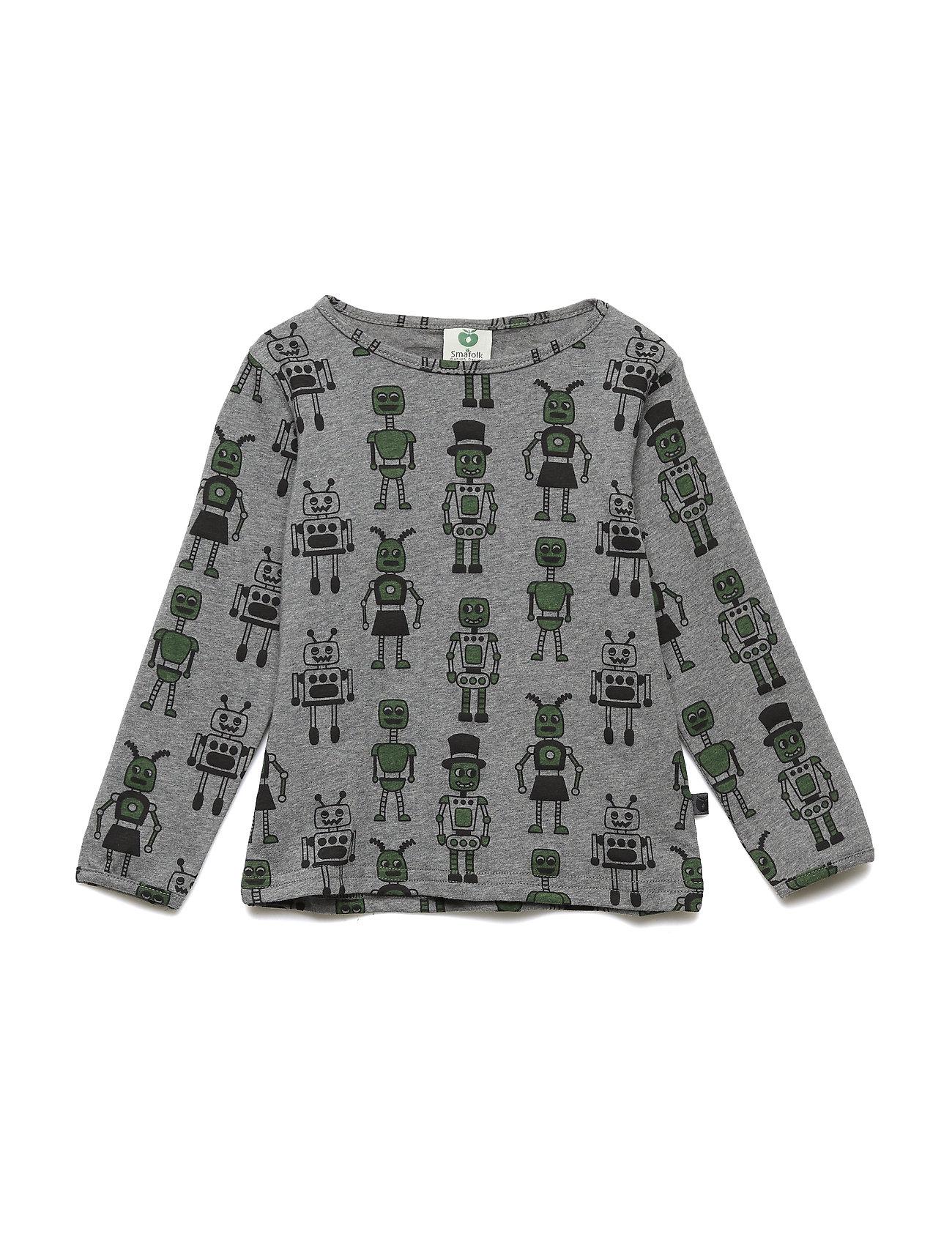 Småfolk T-shirt LS. Robots