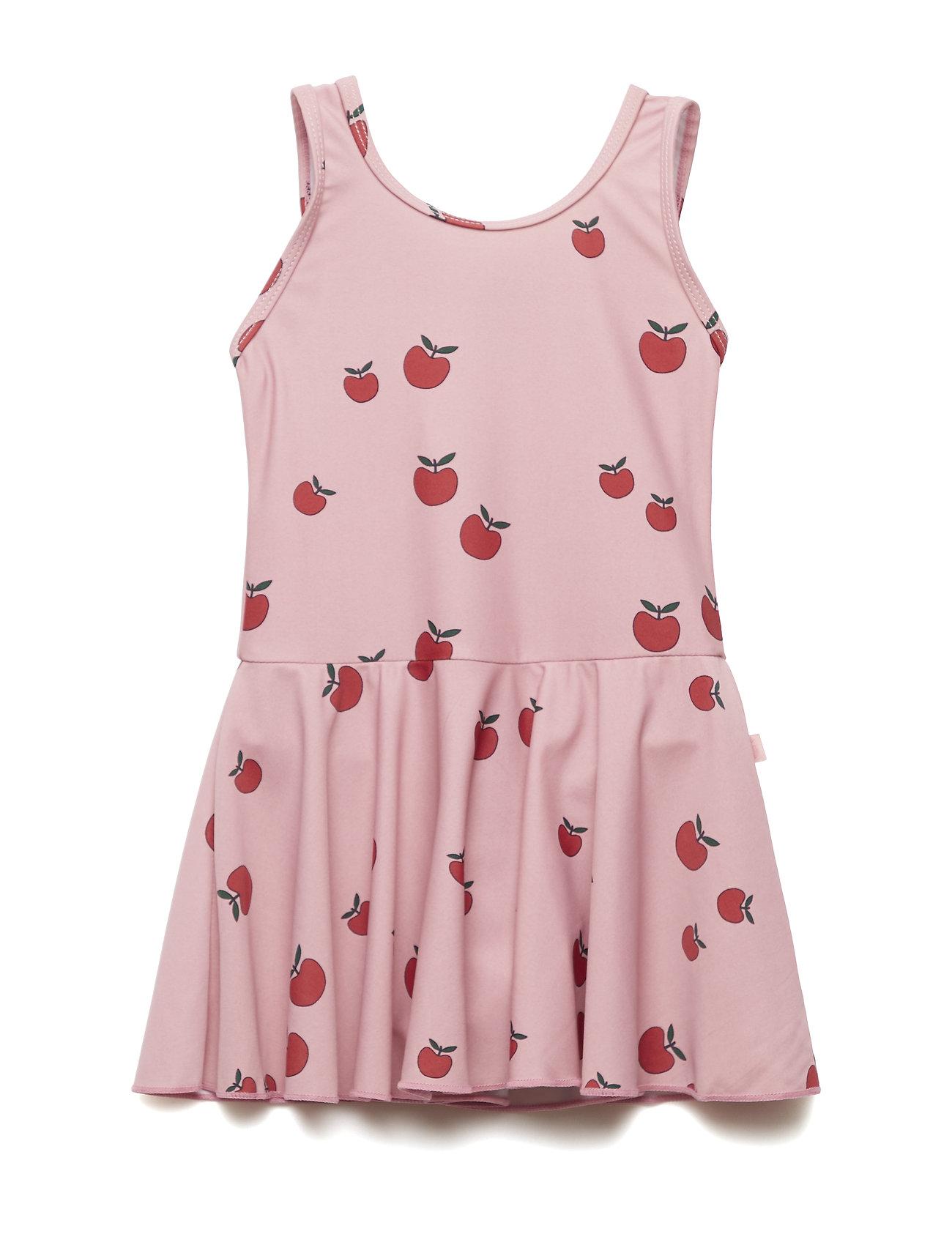 Småfolk Swim Dress. Apple - BLUSH