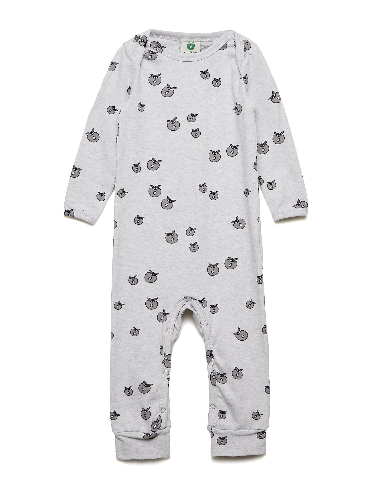 Småfolk Body Suit, Apple. Originals. - LT. GREY MIX