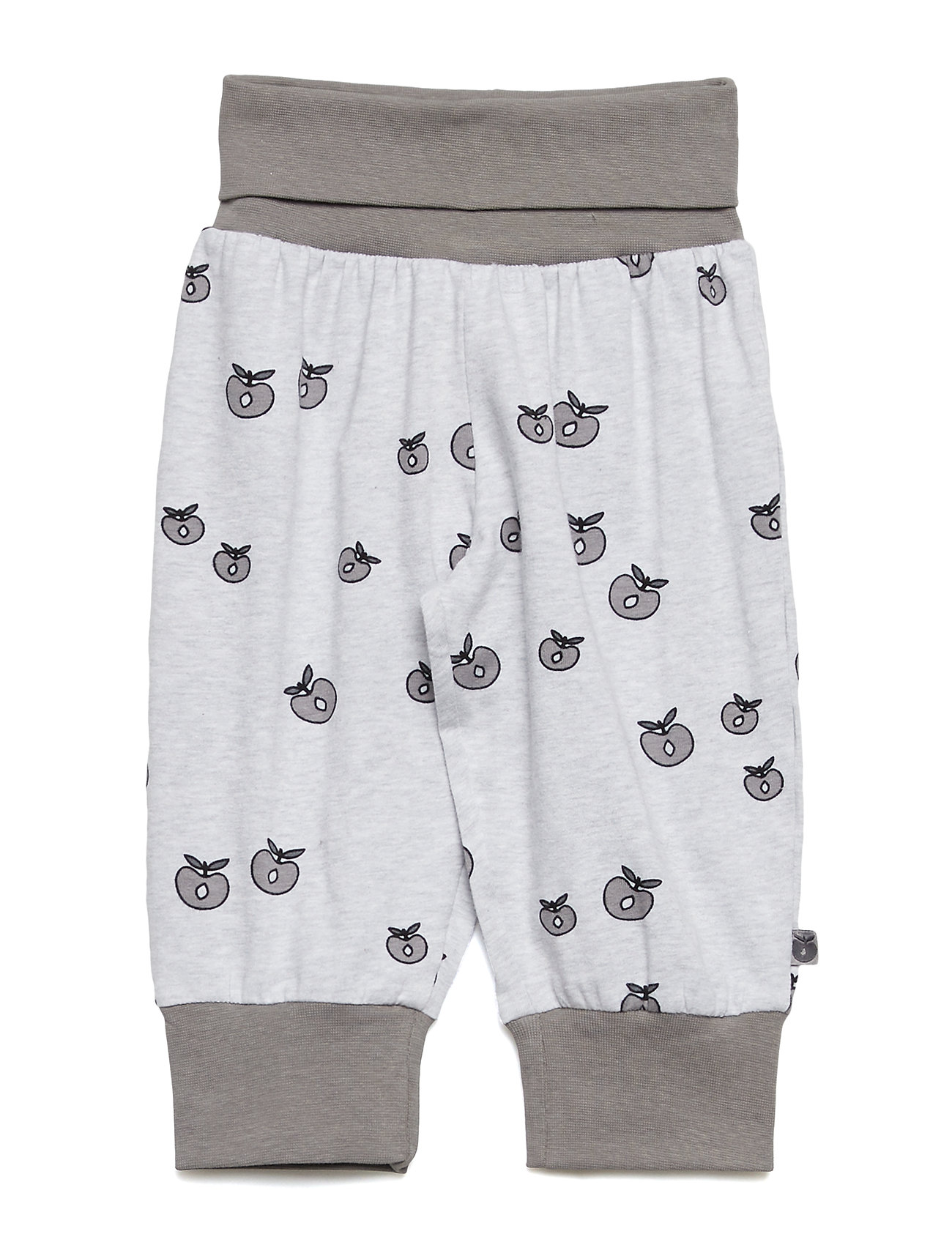 Småfolk Baby pants Waistband. Apple. Originals. - LT. GREY MIX