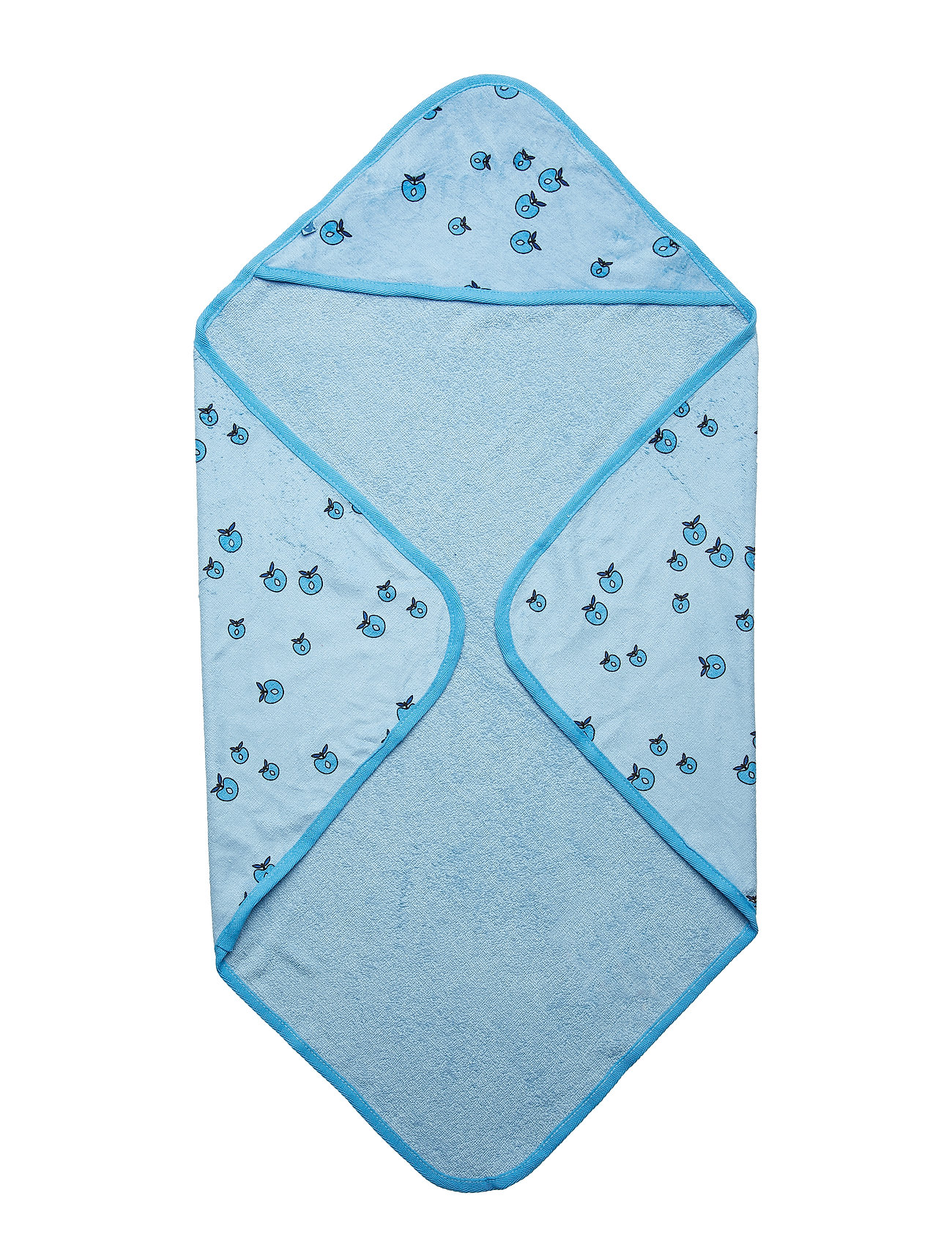 Småfolk Baby Towels, Apple. Originals. - AIR BLUE