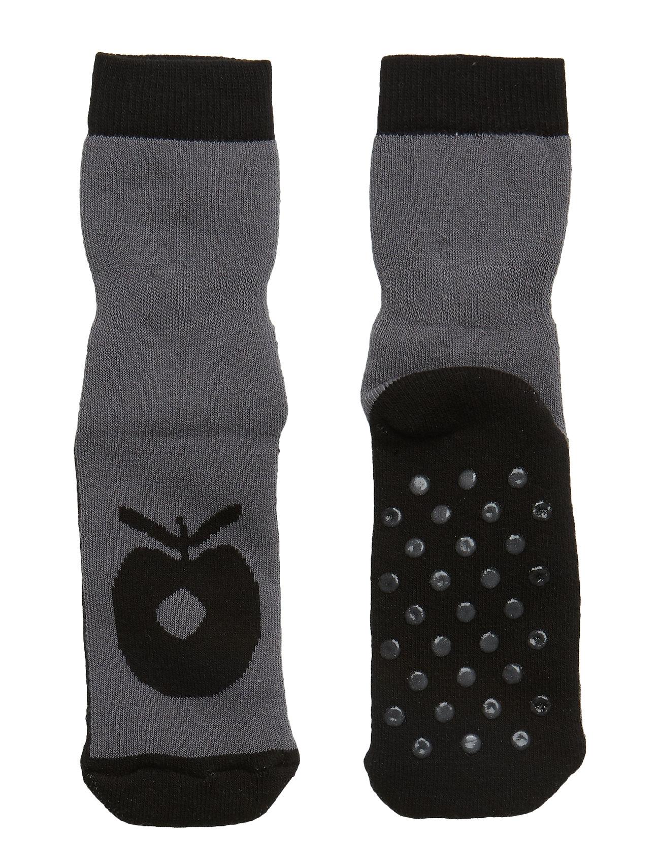 Småfolk Socks Big Apple, Non-slip. Originals. - B. GREY