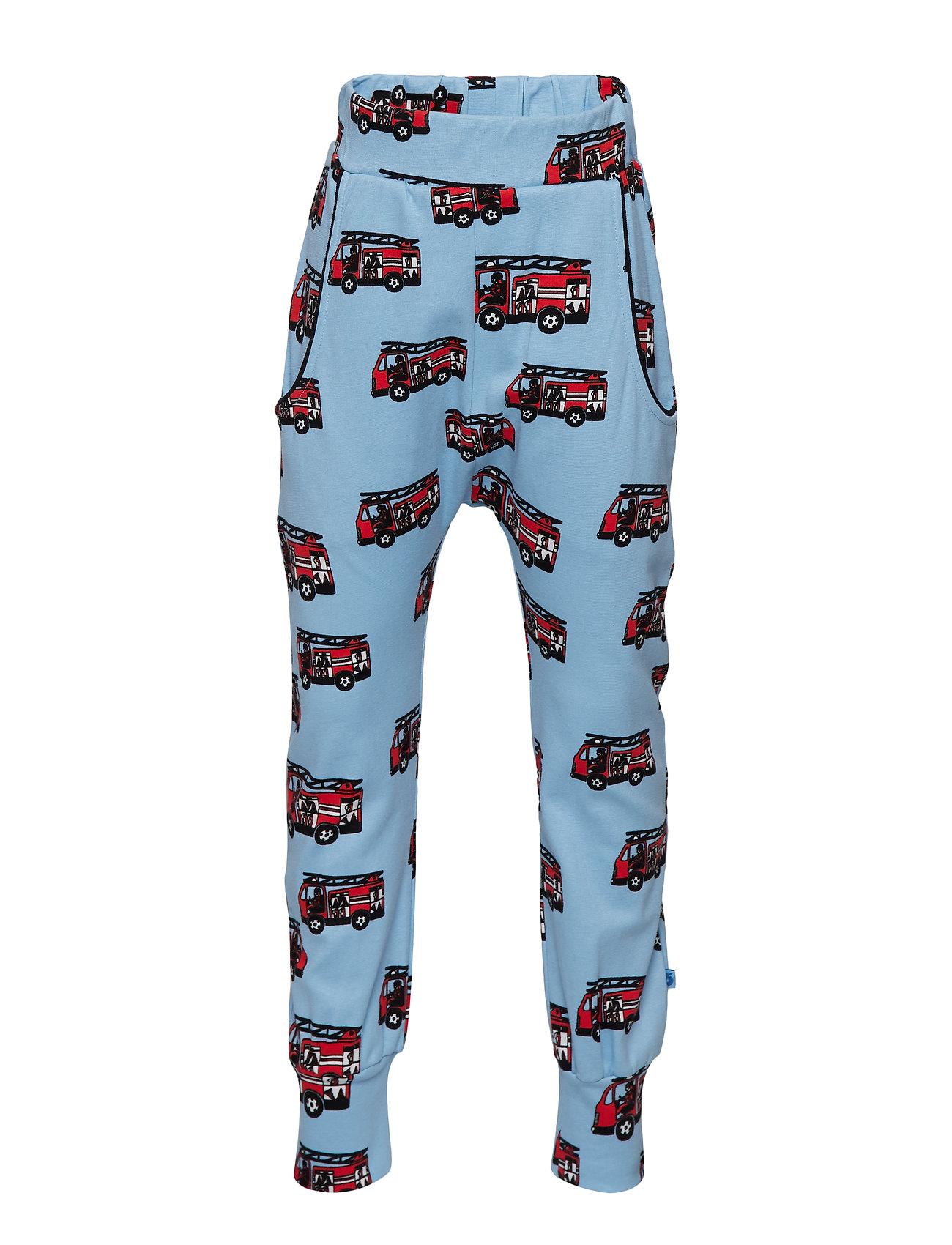 Småfolk Pants. Firetruck - AIR BLUE