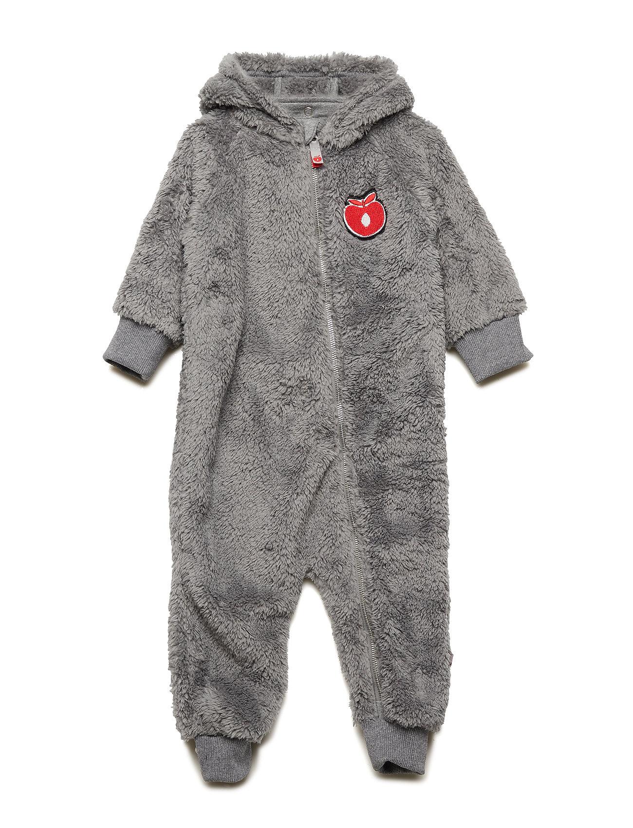 Småfolk Baby heavy fleece Suit. Apple - APPLE RED