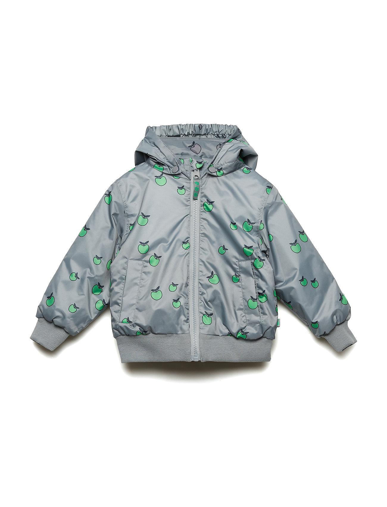 f2563ee827008 Padded Turnable Jacket. Apple (Apple Green) (£44.40) - Småfolk ...