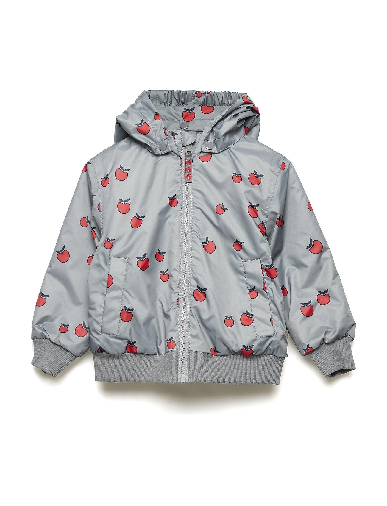 Småfolk Padded Turnable jacket. Apple - APPLE RED